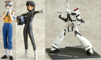 Patlabor Collection Figures
