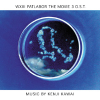 WXIII Patlabor the Movie 3 O.S.T. Album Cover